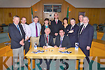The launch of the Kerry County Council Winter Preparedness Programme on Thursday.