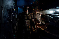 Justice League (2017) <br /> BEN AFFLECK as Batman<br /> *Filmstill - Editorial Use Only*<br /> CAP/KFS<br /> Image supplied by Capital Pictures