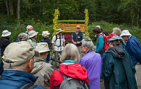 Pacific Horticulture Society tour Alaska Botanical Garden, Anchorage. David Wimpfheimer, leader.