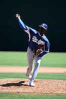 Yadier Alvarez - Los Angeles Dodgers 2016 extended spring training (Bill Mitchell)