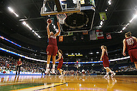 5 April 2008: Stanford Cardinal Jayne Appel during Stanford's 2008 NCAA Division I Women's Basketball Final Four open practice at the St. Pete Times Forum Arena in Tampa Bay, FL.