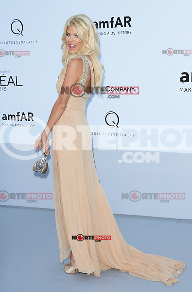 Victoria Silvstedt attending the 2012 amfAR Cinema Against AIDS Gala at Hotel du Cap-Eden-Roc in Antibes, France on 24.5.2012. Credit: Timm/face to face / Mediapunchinc / Mediapunchinc