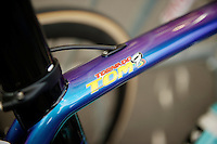 Tom Boonen's Tornado customized Specialized bike<br /> <br /> 67th Kuurne-Brussels-Kuurne 2015