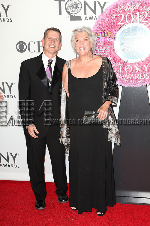 Tyne Daly  pictured at the 66th Annual Tony Awards held at The Beacon Theatre in New York City , New York on June 10, 2012. © Walter McBride / WM Photography