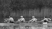Caversham. Berkshire. UK<br /> left,  Cox. Oliver JAMES. Bow. Grace CLOUGH, Pamela RELPH, Daniel BROWN, <br /> 2016 GBRowing, Para Rowing Media Day, UK GBRowing Training base near Reading, Berkshire.<br /> <br /> Friday  15/04/2016<br /> <br /> [Mandatory Credit; Peter SPURRIER/Intersport-images]