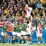 Yusaku Kuwazuru (JPN), AUGUST 11, 2016 - Rugby : Men's bronze medal match between Japan 14- 54 South Africa at Deodoro Stadium during the Rio 2016 Olympic Games in Rio de Janeiro, Brazil. (Photo by Enrico Calderoni/AFLO SPORT)