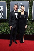 Yaron Versano and Gal Gadot arrive at the 75th Annual Golden Globe Awards at the Beverly Hilton in Beverly Hills, CA on Sunday, January 7, 2018.<br /> *Editorial Use Only*<br /> CAP/PLF/HFPA<br /> &copy;HFPA/PLF/Capital Pictures