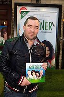 NO FEE PICTURES 1/5/12 Fair City's Patrick Fitzpatrick at the opening night of the world premiere of Fiona Looney's new play Greener at the Gaiety Theatre, Dublin. Picture:Arthur Carron/Collins