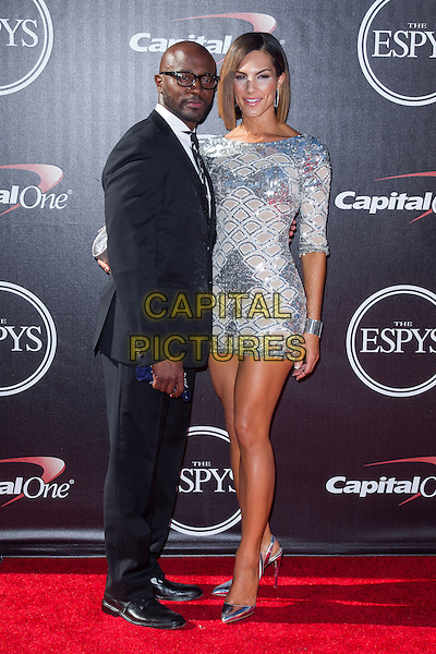 LOS ANGELES, CA - JULY 16: Taye Diggs &amp; guest at the 2014 ESPYs at Nokia Theatre L.A. Live in Los Angeles, California on July 16th, 2014.   <br /> CAP/MPI/mpi99<br /> &copy;mpi99/MediaPunch/Capital Pictures