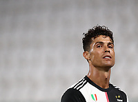 Calcio, Serie A: Juventus - Sampdoria, Turin, Allianz Stadium, July 26, 2020.<br /> Juventus' Cristiano Ronaldo looks on during the Italian Serie A football match between Juventus and - Sampdoria at the Allianz stadium in Turin, July 26, 2020.<br /> UPDATE IMAGES PRESS/Isabella Bonotto