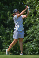 Juli Inkster (USA) watches her tee shot on 17 during round 2 of the 2018 KPMG Women's PGA Championship, Kemper Lakes Golf Club, at Kildeer, Illinois, USA. 6/29/2018.<br /> Picture: Golffile | Ken Murray<br /> <br /> All photo usage must carry mandatory copyright credit (© Golffile | Ken Murray)
