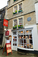 Sally Lunn's tea shop (the oldest building in Bath), Bath, UK, October 17, 2007. The city of Bath is famed for it's hot springs (the only in the UK) and it's Georgian architecture. The city is a UNESCO World Heritage Site.