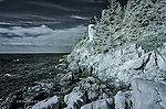 The Bass Harbor Light, Maine (Infrared)