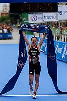 Georgia Tylor-Brown of Great Britain during the 2017 Madrid ITU Triathlon World Cup in Madrid, May 28, 2017. Spain.. (ALTERPHOTOS/Rodrigo Jimenez) /NortePhoto.com