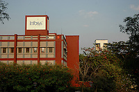 Oldest  Infosys building in their Bangalore campus. Infosys is the largest software company in the country and the head office is in Bangalore, Karnataka, India. Arindam Mukherjee