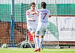 S&ouml;dert&auml;lje 2015-06-21 Fotboll Superettan Assyriska FF - J&ouml;nk&ouml;pings S&ouml;dra IF :  <br /> Assyriskas Gustavo Ezequiel Blanco Leschuk firar sitt 2-2 m&aring;l med Alexander Nilsson under matchen mellan Assyriska FF och J&ouml;nk&ouml;pings S&ouml;dra IF <br /> (Foto: Kenta J&ouml;nsson) Nyckelord:  Assyriska AFF S&ouml;dert&auml;lje Fotbollsarena Superettan J&ouml;nk&ouml;ping S&ouml;dra J-S&ouml;dra jubel gl&auml;dje lycka glad happy