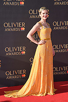 Denise Gough at The Olivier Awards 2017 at the Royal Albert Hall, London, UK. <br /> 09 April  2017<br /> Picture: Steve Vas/Featureflash/SilverHub 0208 004 5359 sales@silverhubmedia.com