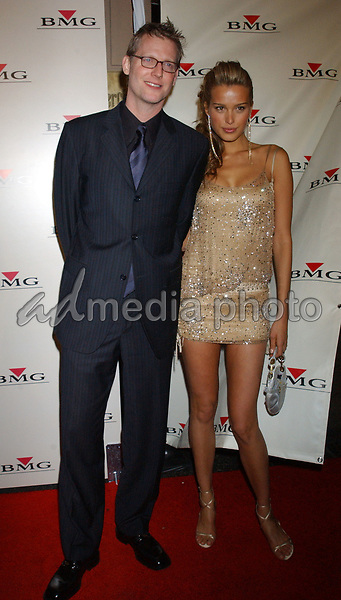 Feb. 8, 2004; Hollywood, CA, USA; Model PETRA NEMCOVA and CRAIG KILBORN during the BMG 46th Annual Grammy Awards Post-Grammy Gala Celebration held at The Avalon. Mandatory Credit: Photo by Laura Farr/AdMedia. (©) Copyright 2003 by Laura Farr