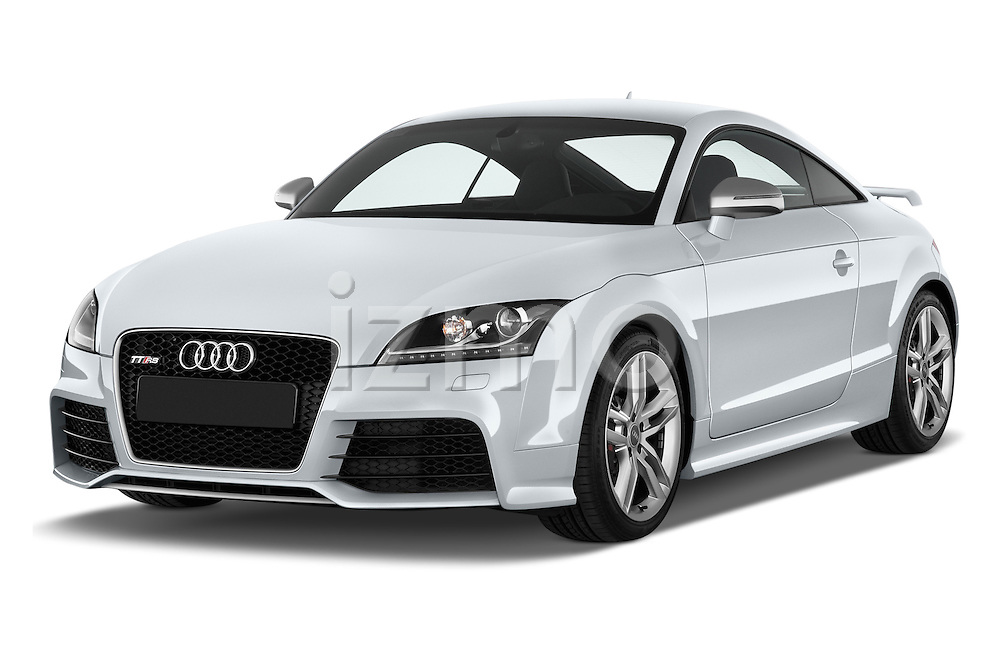 Front three quarter view of a 2010 - 2014 Audi TT RS 3 Door Coupe 4WD.