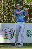 Jordan Spieth (USA) watches his tee shot on 17 during the preview of the World Golf Championships, Mexico, Club De Golf Chapultepec, Mexico City, Mexico. 2/28/2018.<br /> Picture: Golffile | Ken Murray<br /> <br /> <br /> All photo usage must carry mandatory copyright credit (&copy; Golffile | Ken Murray)