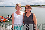 Pictured at Glin Charity Swim in aid of West Limerick Children's Services which took place in Glin on Sunday were L-R : Mary Sheehan and Ann Sheehan, Glin.