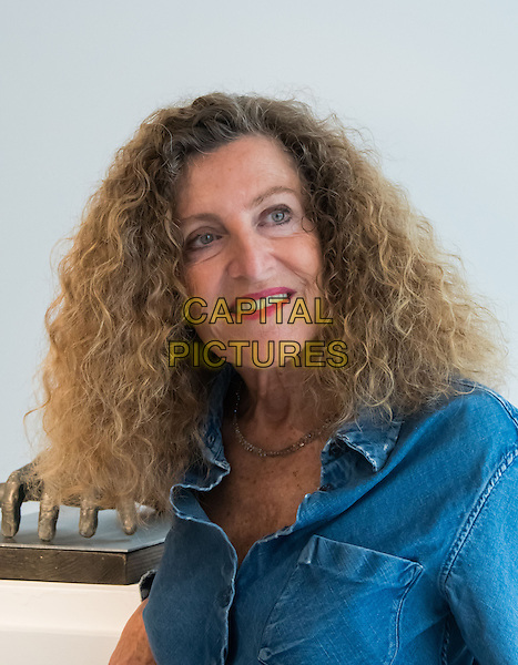 Fashion designer-turned-sculptor Nicole Farhi unveils a high-profile exhibition of sculpted hands, The Human Hand, at Bowman Sculpture, London on September 12, 2016. <br /> CAP/JOR<br /> &copy;JOR/Capital Pictures