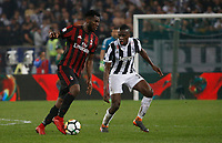 Franck Kessie  and Blaise Matuidi of Juventus  during the  Coppa Italia ( Tim Cup) final soccer match,  Ac Milan  - Juventus Fc       at  the Stadio Olimpico in Rome  Italy , 09 May 2018