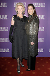 """Elaine Wynn (left) and Gillian Wynn arrive at the Alvin Ailey American Dance Theater """"Modern American Songbook"""" opening night gala benefit at the New York City Center on November 29, 2017."""