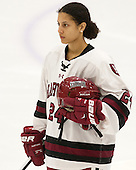 Chelsea Ziadie (Harvard - 24) - The visiting Boston College Eagles defeated the Harvard University Crimson 2-0 on Tuesday, January 19, 2016, at Bright-Landry Hockey Center in Boston, Massachusetts.