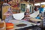Women Making Turkish Flatbread