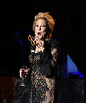 "Bette Midler performing at Bette Midler's New York Restoration Project's Annual ""Hulaween in the Big Easy"" at  the Waldorf Astoria on October 31, 2013  in New York City."