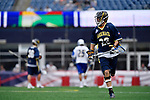 FOXBORO, MA - MAY 28: Tim Towler (22) of the Merrimack Warriors during the Division II Men's Lacrosse Championship held at Gillette Stadium on May 28, 2017 in Foxboro, Massachusetts. (Photo by Larry French/NCAA Photos via Getty Images)