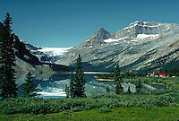 Banff, Alberta, Canada, lake and mountains
