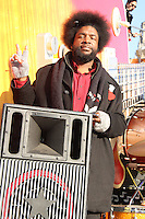 NEW YORK, NY - NOVEMBER 22: Questlove at the 86th Annual Macy's Thanksgiving Day Parade on November 22, 2012 in New York City. Credit: RW/MediaPunch Inc. /NortePhoto