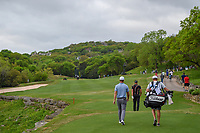 Henrik Stenson (SWE) and Lucas Bjerregaard (DEN) head down 3 during day 4 of the WGC Dell Match Play, at the Austin Country Club, Austin, Texas, USA. 3/30/2019.<br /> Picture: Golffile | Ken Murray<br /> <br /> <br /> All photo usage must carry mandatory copyright credit (© Golffile | Ken Murray)