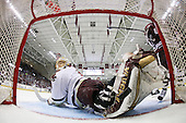 Wellman's second goal - Philip Samuelsson (BC - 5), John Muse (BC - 1), James Marcou (UMass - 19) - The Boston College Eagles defeated the University of Massachusetts-Amherst Minutemen 5-2 on Saturday, March 13, 2010, at Conte Forum in Chestnut Hill, Massachusetts, to sweep their Hockey East Quarterfinals matchup.