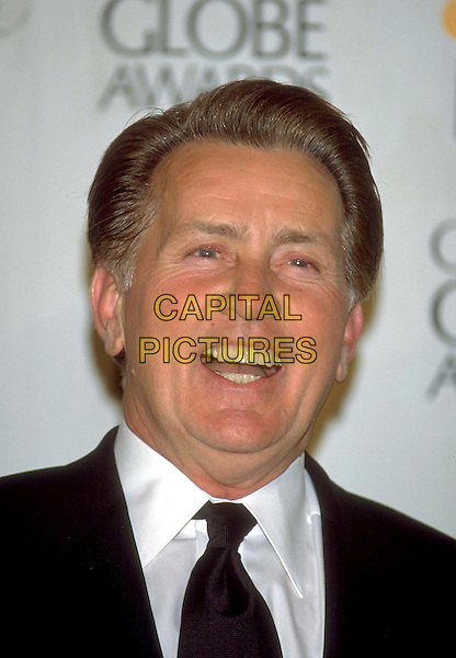 MARTIN SHEEN.Golden Globe Awards 2001 .Ref: 10304.headshot, portrait, laughing.www.capitalpictures.com.sales@capitalpictures.com.©Capital Pictures
