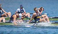 Lake Natoma, Ca - June 4, 2017:  The 2017 IRA Championships in Lake Natoma, CA.