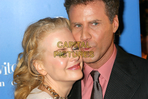 "NICOLE KIDMAN & WILL FERRELL.""Bewitched""  World  Film Premiere, . Ziegfeld Theater, New York City, USA, .June 13, 2005..portrait headshot funny eyes shut closed.Ref: IW.www.capitalpictures.com.sales@capitalpictures.com.©Ian Wilson/Capital Pictures."