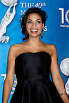 LOS ANGELES, CA. - February 12: Actress Rosario Dawson poses in the press room for the 40th NAACP Image Awards at the Shrine Auditorium on February 12, 2009 in Los Angeles, California.
