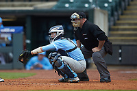 Cody Roberts (11) of the North Carolina Tar Heels on defense against the Boston College Eagles in Game Five of the 2017 ACC Baseball Championship at Louisville Slugger Field on May 25, 2017 in Louisville, Kentucky. The Tar Heels defeated the Eagles 10-0 in a game called after 7 innings by the Mercy Rule. (Brian Westerholt/Four Seam Images)