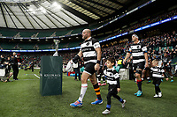 16th November 2019; Twickenham, London, England; International Rugby, Barbarians versus Fiji; Rory Best of Barbarians leads out his side from the tunnel onto the pitch  - Editorial Use
