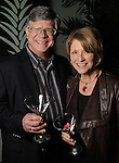 Claudia and Doug Williamson at Martini Madness at the Center for Contemporary Craft Thursday Jan. 22,2015.(Dave Rossman For the Chronicle)