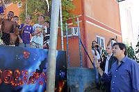 SAO PAULO, SP, 09.05.2015 - HADDAD-SP - Prefeito Fernando Haddad durante visita à ação integrada as obras dos bairros Fregueia do Ó e Brasilandia  na região norte de São Paulo neste sábado, 09.  (Foto: Fernando Neves/ Brazil Photo Press/Folhapress)