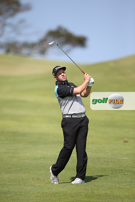 Andrew Johnston (ENG) plays second shot to the last during Round One of the Africa Open 2015 at the East London Golf Club, East London, Eastern Cape, South Africa. Picture:  David Lloyd / www.golffile.ie. 05/03/2015