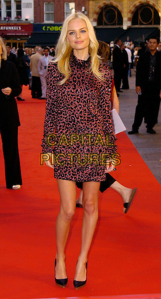 "KATE BOSWORTH.""Superman Returns"" UK film premiere, Odeon Leicester Square, London, UK..July 13th, 2006.Ref: CAN.full length red black jewel encrusted sequin sequined dress .www.capitalpictures.com.sales@capitalpictures.com.©Capital Pictures"