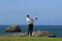 Andrew McCormack (Castletroy) on the 4th tee during the Munster Final of the AIG Barton Shield at Tralee Golf Club, Tralee, Co Kerry. 12/08/2017<br /> Picture: Golffile | Thos Caffrey<br /> <br /> <br /> All photo usage must carry mandatory copyright credit     (&copy; Golffile | Thos Caffrey)