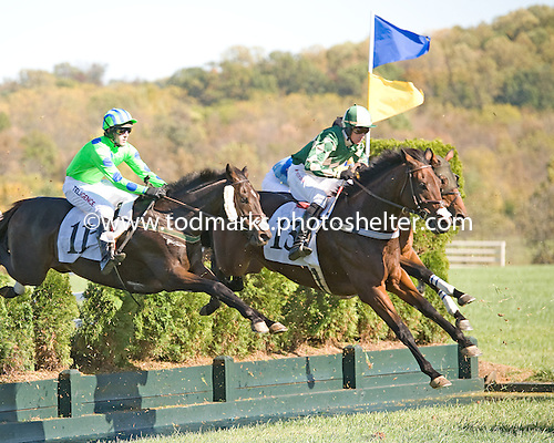 Canardly, 13, leads in an optional claimer at Great Meadow in October.