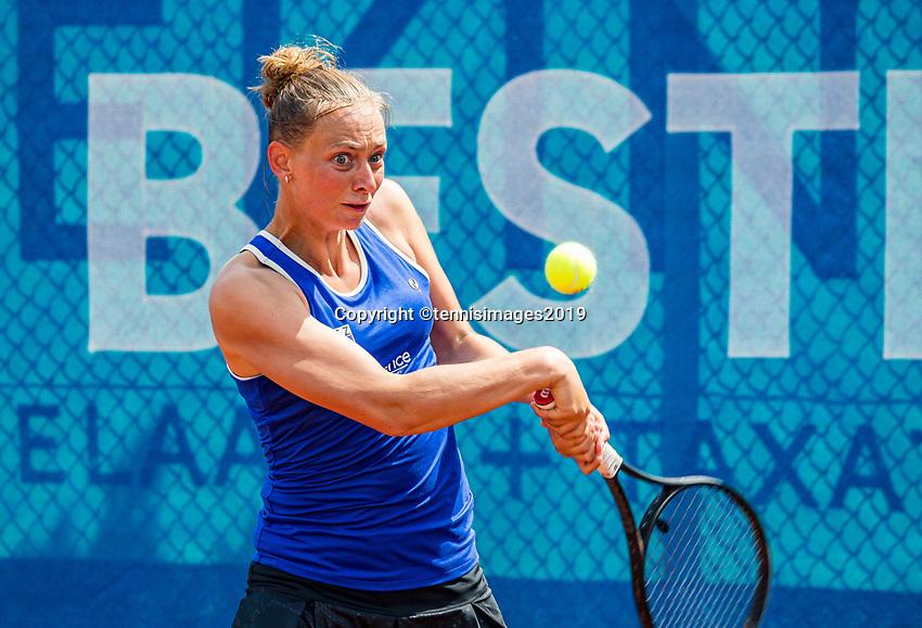 Zandvoort, Netherlands, 8 June, 2019, Tennis, Play-Offs Competition,  Cindy Burger (NED)<br /> Photo: Henk Koster/tennisimages.com