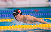 Picture by Allan McKenzie/SWpix.com - 15/12/2017 - Swimming - Swim England Winter Championships - Ponds Forge International Sports Centre, Sheffield, England - Thomas Paine races in the mens open 200m butterfly.